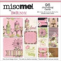 Sweet Moments - Misc Me Pocket Squares Journaling Cards 96/Pkg