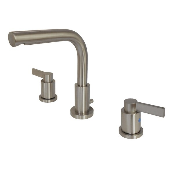 Kingston Brass FSC895.NDL NuvoFusion 1.2 GPM Deck Mounted Bathroom Faucet with Lever Handles
