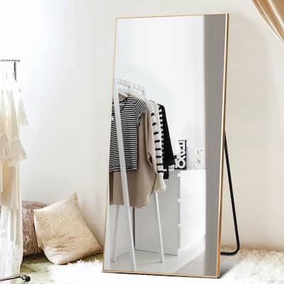 Modern Full Length/Floor Mirror Freestanding In Living/Sitting Room