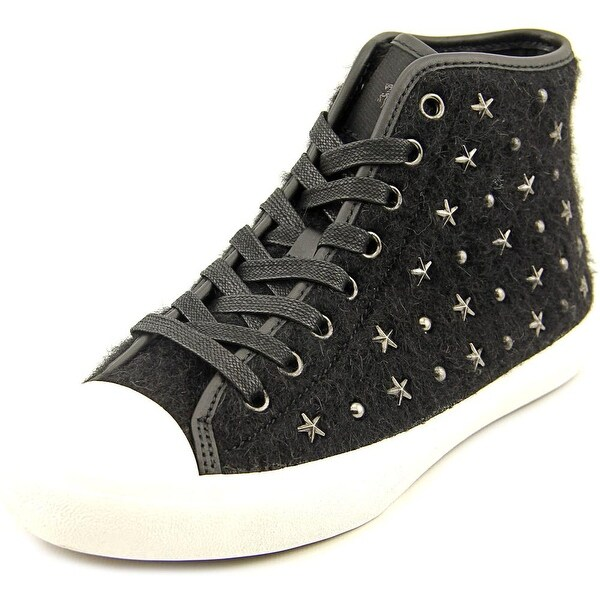 Coach Emerald Star Women Canvas Black Fashion Sneakers