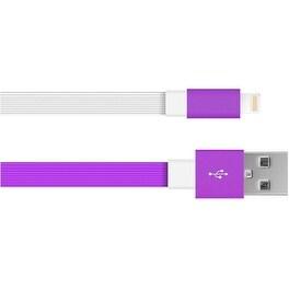 Just Wireless 705954051480 6 Feet Flat TPE Lightning to USB (Refurbished)