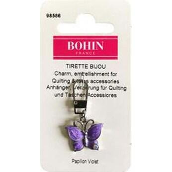 Purple Butterfly - Bohin Decorative Charm