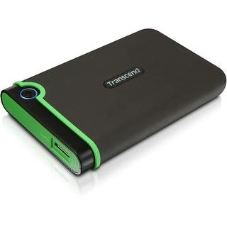 Transcend 1 TB StoreJet M3 Military Drop Tested USB 3.0 External Hard Drive (TS1TSJ25M3) - Black