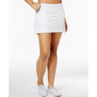 Ideology Women's Tennis Skort, Bright White (XXL)