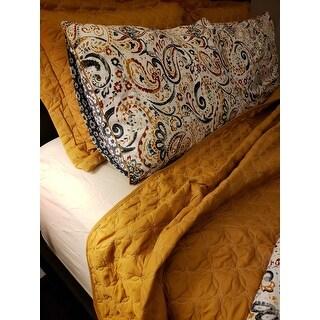 Amrapur Overseas Mavia Reversible 6-piece Comforter Set with Bonus Coverlet Set - Multi-color