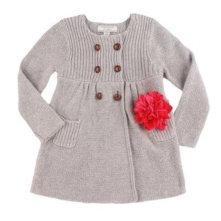 Richie House Girls' Cardigan-sweaters with Flower