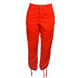 Lauren Ralph Lauren Sun Orange Twill Pants 12