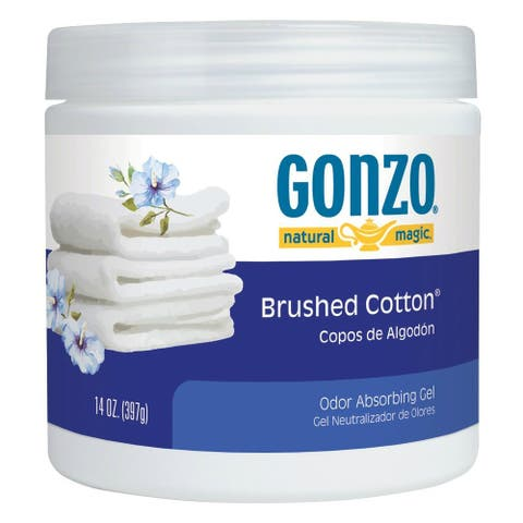 Gonzo 4120D Natural Magic Odor Absorbing Gel, Brushed Cotton, 14 Oz