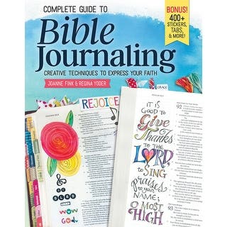 Fox Chapel-Complete Guide To Bible Journaling|https://ak1.ostkcdn.com/images/products/is/images/direct/b0032f46516309ebf6f0d2f6fa48a26ccfa58025/Fox-Chapel-Complete-Guide-To-Bible-Journaling.jpg?impolicy=medium
