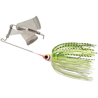 Booyah Buzz Bait 1/4 oz. Fishing Lure - White/Chartreuse Shad - white/chartreuse shad
