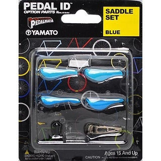 Pedal Id 1:9 Scale Bicycle: Saddle Set: Blue