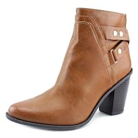 Bar III Womens Dove Almond Toe Ankle Fashion Boots