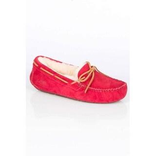 Ladies' Dakota Slip-On Loafers in Jester Red