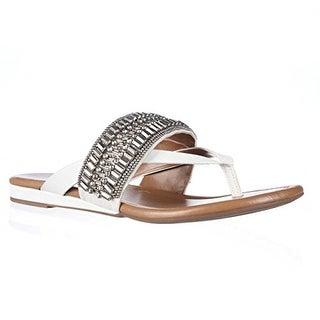 Arturo Chiang Lyra Flip Flop Sandals - White