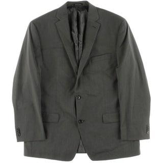 MICHAEL Michael Kors Mens Pindot Notch Lapel Two-Button Blazer