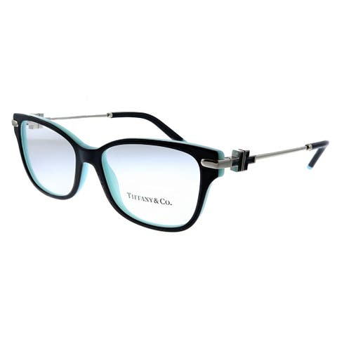 Tiffany & Co. TF 2207 8055 54mm Womens Black On Tiffany Blue Frame Eyeglasses 54mm