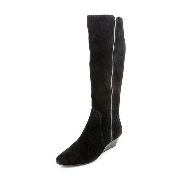 Alfani Women Swaye Mid Calf Wedge Boots