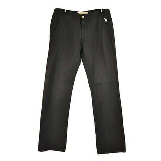 Big Star Men's Casual Slim Work Black Size 42 Long Pants