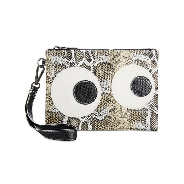 Circus by Sam Edelman Womens Deny Cosmetic Case Faux Leather Embossed