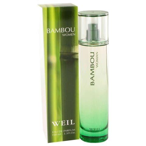 BAMBOU by Weil Eau De Parfum Spray 3.4 oz