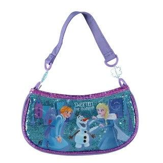 Girls' Frozen Glitter Handbag
