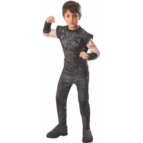 Marvel Avengers Infinity War Thor Child Costume - Black