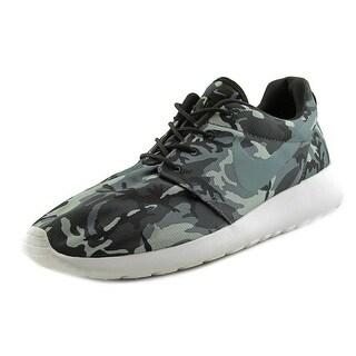 Nike RosheRun Print Round Toe Synthetic Running Shoe