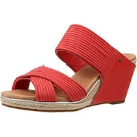 Ugg Women's Hilarie Wedge Slide Sandal