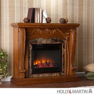 Southern Enterprises FE9664 Cardona Electric Fireplace - Walnut