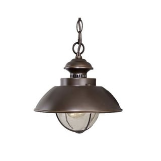 Vaxcel Lighting OD21506 Harwich 1 Light Nautical Outdoor Small Pendant