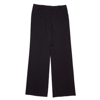 Lafayette 148 New York Zip Fly with Button Straight Pant Women Regular