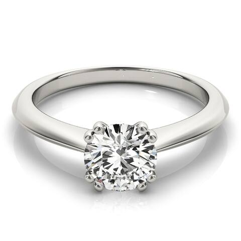 Lab Grown 1 1/2ctw Solitaire Diamond Engagement Ring 14k Gold by Ethical Sparkle