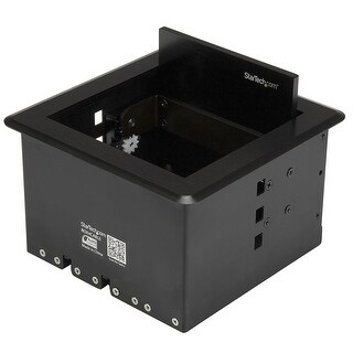 Startech Accessory Box4cable Room Av Conference Table Connectivity Box