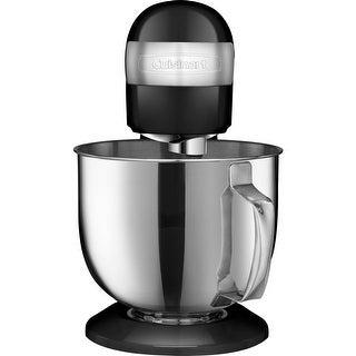Cuisinart SM-50BK Precision Master 5.5-Quart Stand Mixer, Black