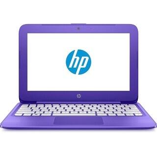 "Manufacturer Refurbished - HP Stream 11-Y020WM 11.6"" Laptop Intel Celeron N3060 1.6GHz 4GB 32GB eMMC Win10"