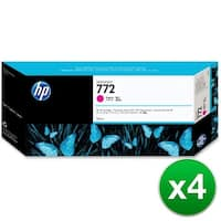HP 772 300-ml Magenta DesignJet Ink Cartridge (CN629A)(4-Pack)