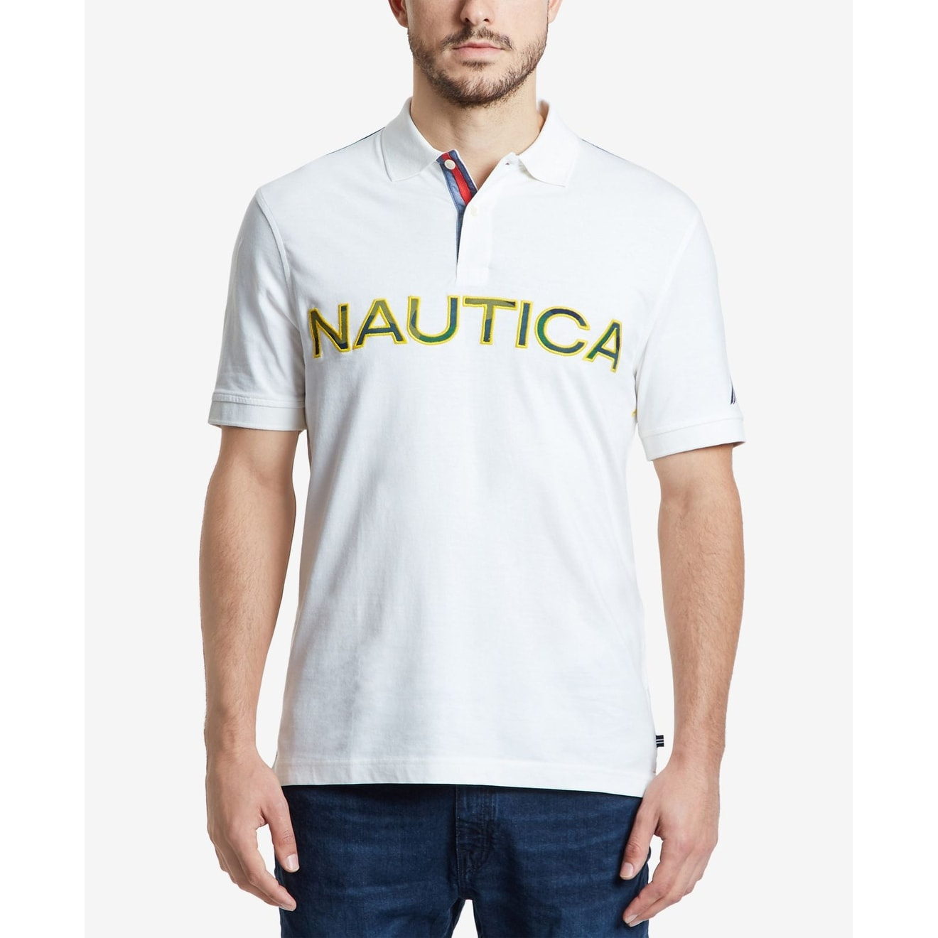 Nautica Camo Logo T-Shirt