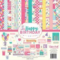"Echo Park Collection Kit 12""X12""-Happy Birthday Girl"