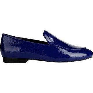 Kenneth Cole New York Women's Westley Loafer Blue Patent Leather