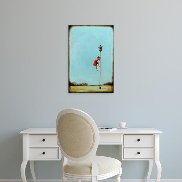 Easy Art Prints Alicia Armstrong's 'Competition' Premium Canvas Art