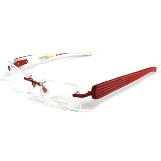 Boucheron Unisex Rimless Eyeglasses Red - S