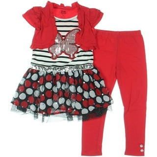 Young Hearts Girls Casual Dress Sequined 2PC
