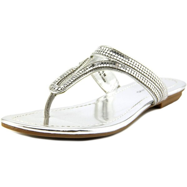 Bandolino Ronan Open Toe Canvas Thong Sandal