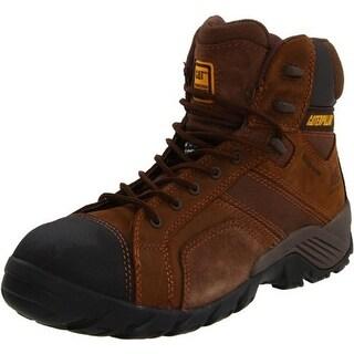 Caterpillar Mens Argon Leather Composite Work Boots