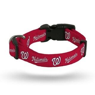 Washington Nationals Pet Collar Size M