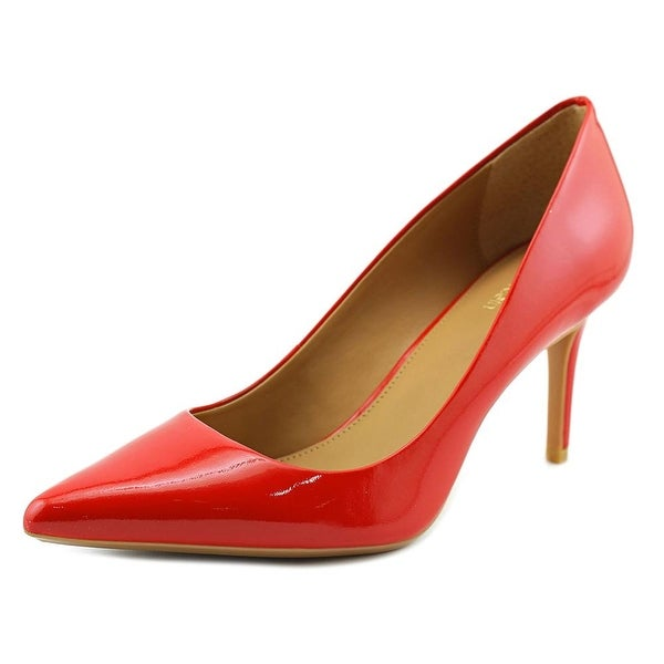 Calvin Klein Gayle  Women  Pointed Toe Synthetic Red Heels