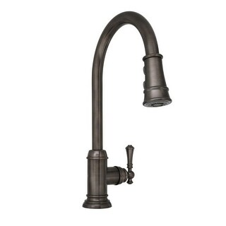 Mirabelle MIRXCAM100 Amberley Pullout Spray Kitchen Faucet with High Arch Gooseneck Spout