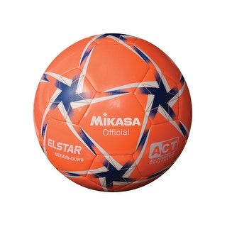 Mikasa No 5 SE Series Soccer Ball, Orange/White/Blue