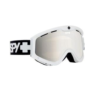 Spy Optic 310809632387 Targa3 T3 Snow Ski Goggles White Bronze Silver Mirror