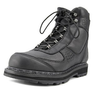 Under Armour Lindig Leather Men  Round Toe Synthetic Black Combat Boot